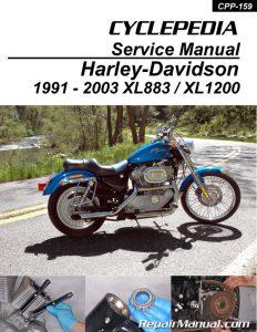 harley davidson xl883 xl1200 sportster printed cyclepedia. Black Bedroom Furniture Sets. Home Design Ideas