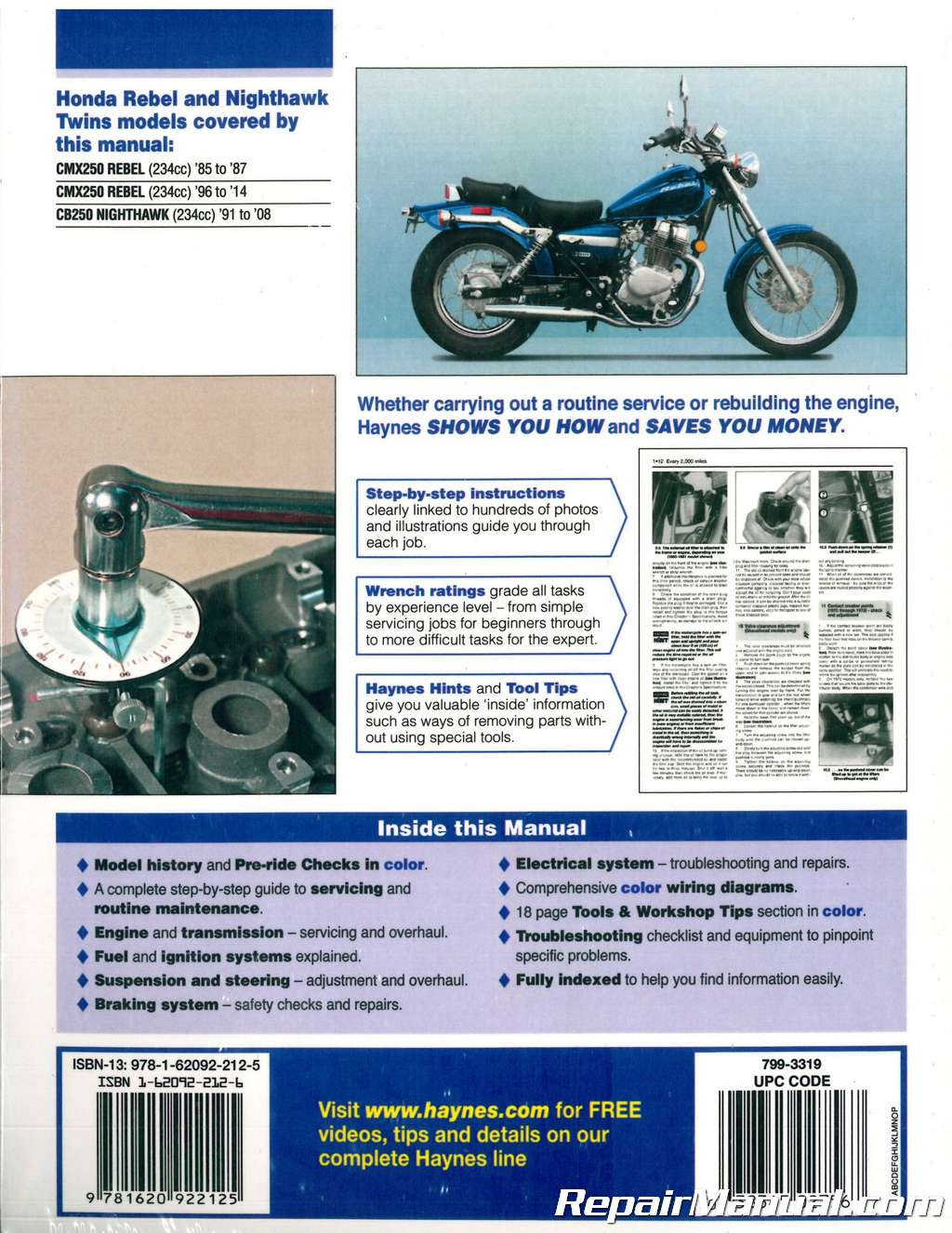 Honda Cmx 250 Wiring Diagram List Of Schematic Circuit Rebel Haynes 1985 2014 Cmx250 Cb250 Nighthawk Twins Motorcycle Rh Repairmanual Com 2001