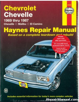 1963 1983 chevrolet corvette repair manual