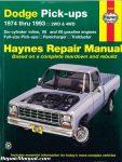 Haynes Dodge Full-Size Pickups 1974-1993 Repair Manual_001