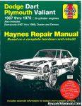 Haynes Dodge Plymouth Dart Demon Valiant Duster Barracuda 1967-1976 Repair Manual_001