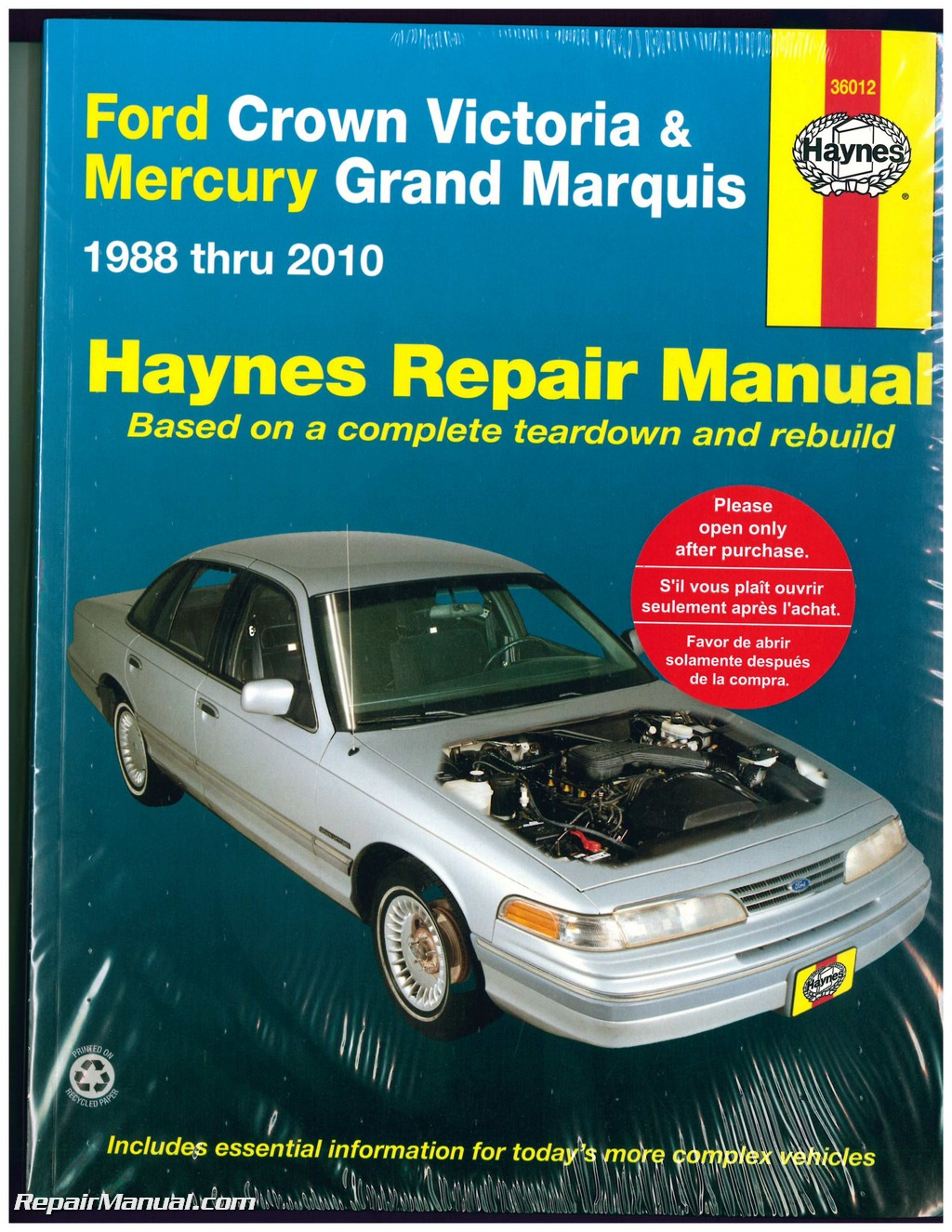 Image Result For Ford Crown Victoria Service Manual