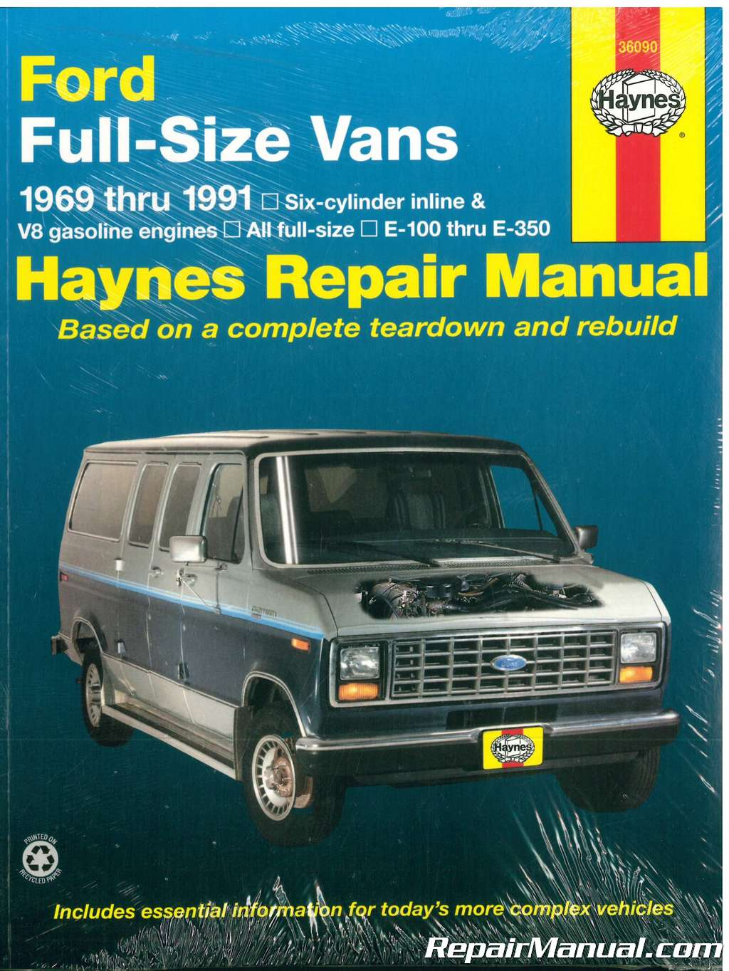 Honda Vin Decoder >> Haynes Ford Full Sized Van 1969- 1991 Auto Repair Manual