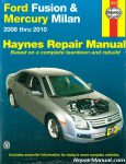 Haynes Ford Fusion 2006-2010 Mercury Milan 2006-2010 Auto Repair Manual_001