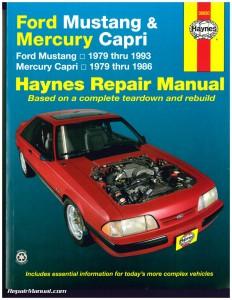 Haynes Ford Mustang 1979-199311
