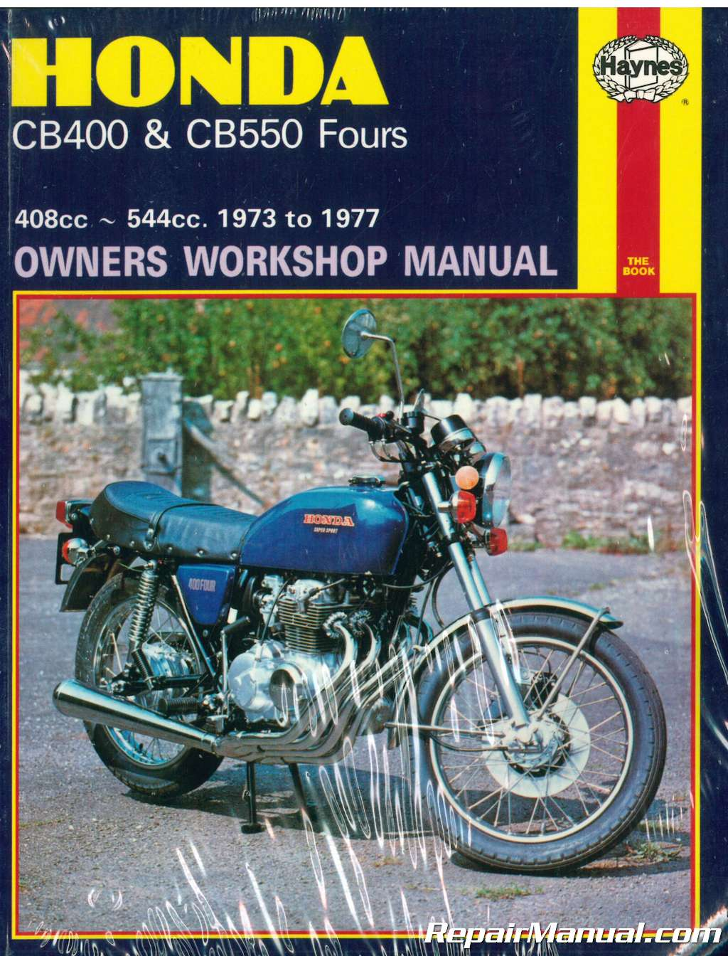 haynes honda cb400 cb550 1973 1977 motorcycle owners workshop manual rh  repairmanual com honda cb 500 owners manual ebay uk honda cb500 owners ...