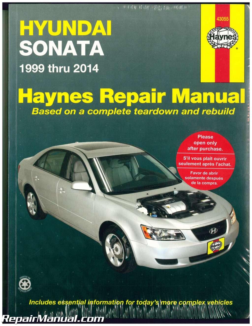 Haynes Hyundai Sonata 1999