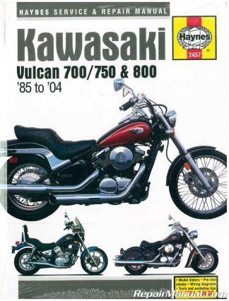 Kawasaki Vulcan    Haynes Repair Manual