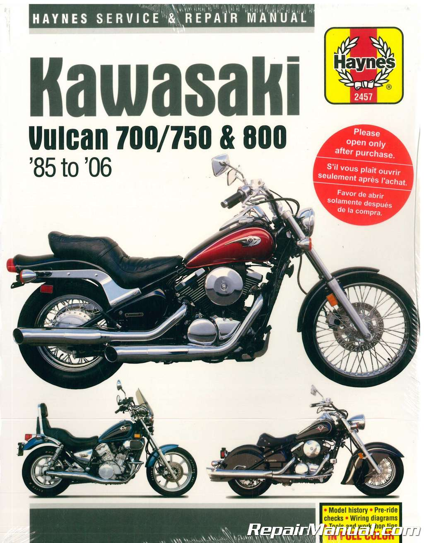 haynes kawasaki vulcan 700 750 800 1985-2006 motorcycle service manual