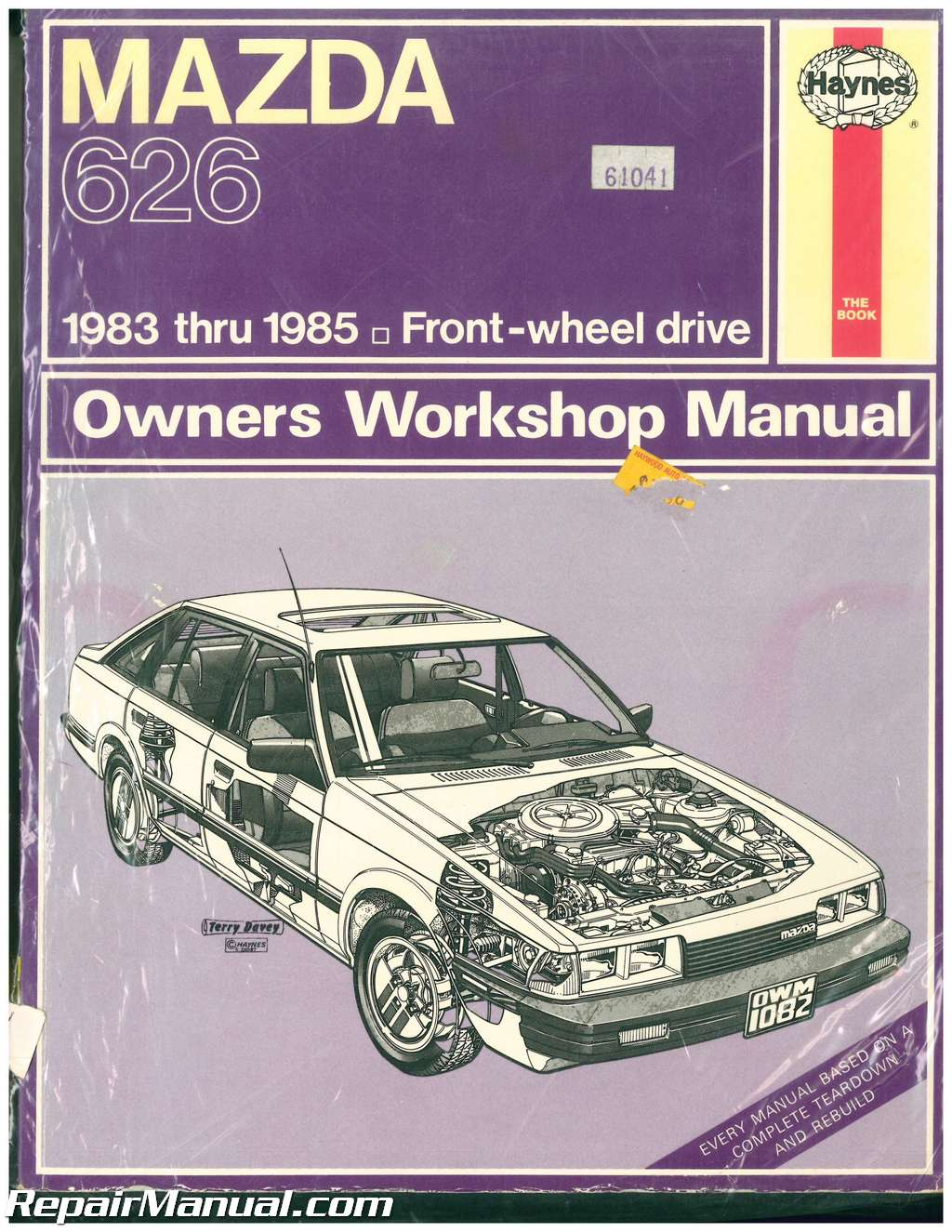 used haynes mazda 626 1983 1985 auto repair manual rh repairmanual com used car repair manuals for sale used car repair manuals for sale