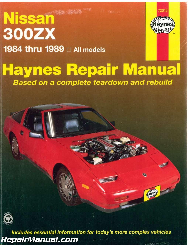 haynes nissan 300zx 1984 1989 auto repair manual rh repairmanual com nissan  300zx repair manual pdf 300zx workshop manual