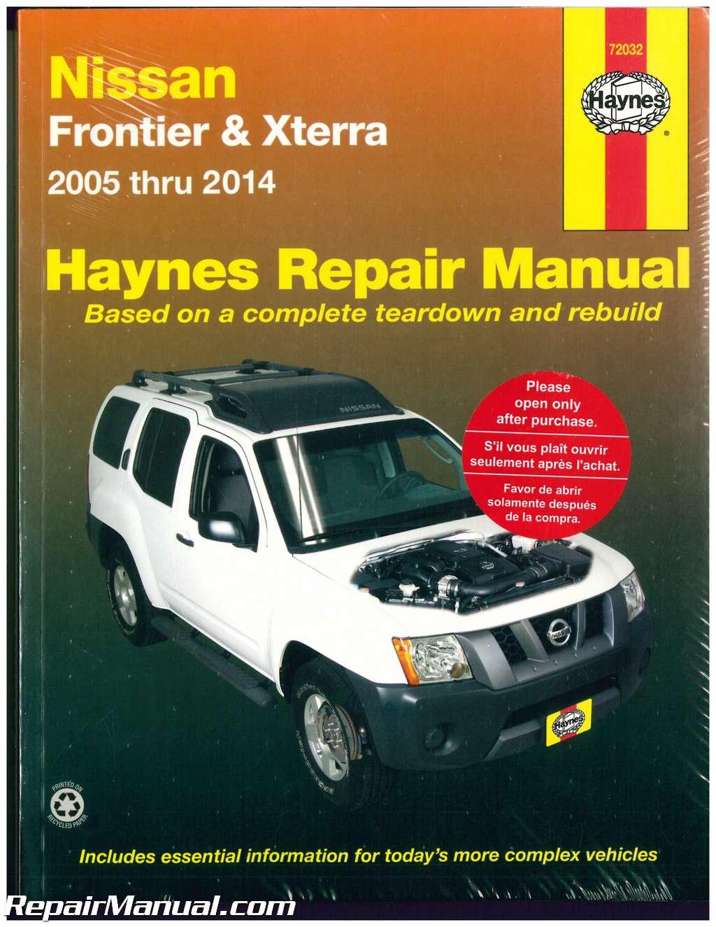 Haynes Nissan Frontier Xterra 2005
