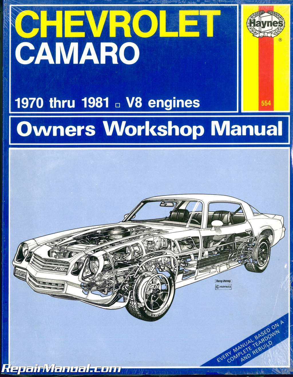 Haynes Owners Workshop Manual Chevrolet Camaro All Models 1970 1981 Wiring Diagram