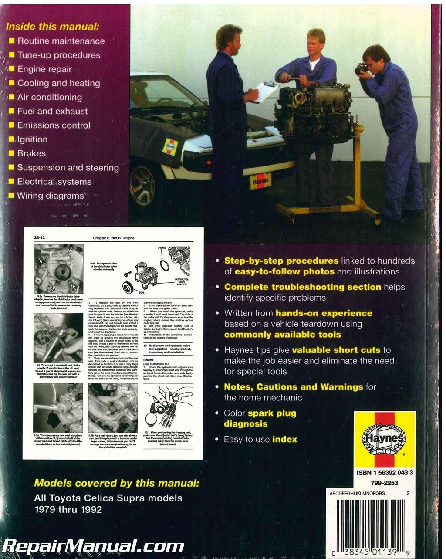 Toyota Repair manual free download komatsu forklift parts
