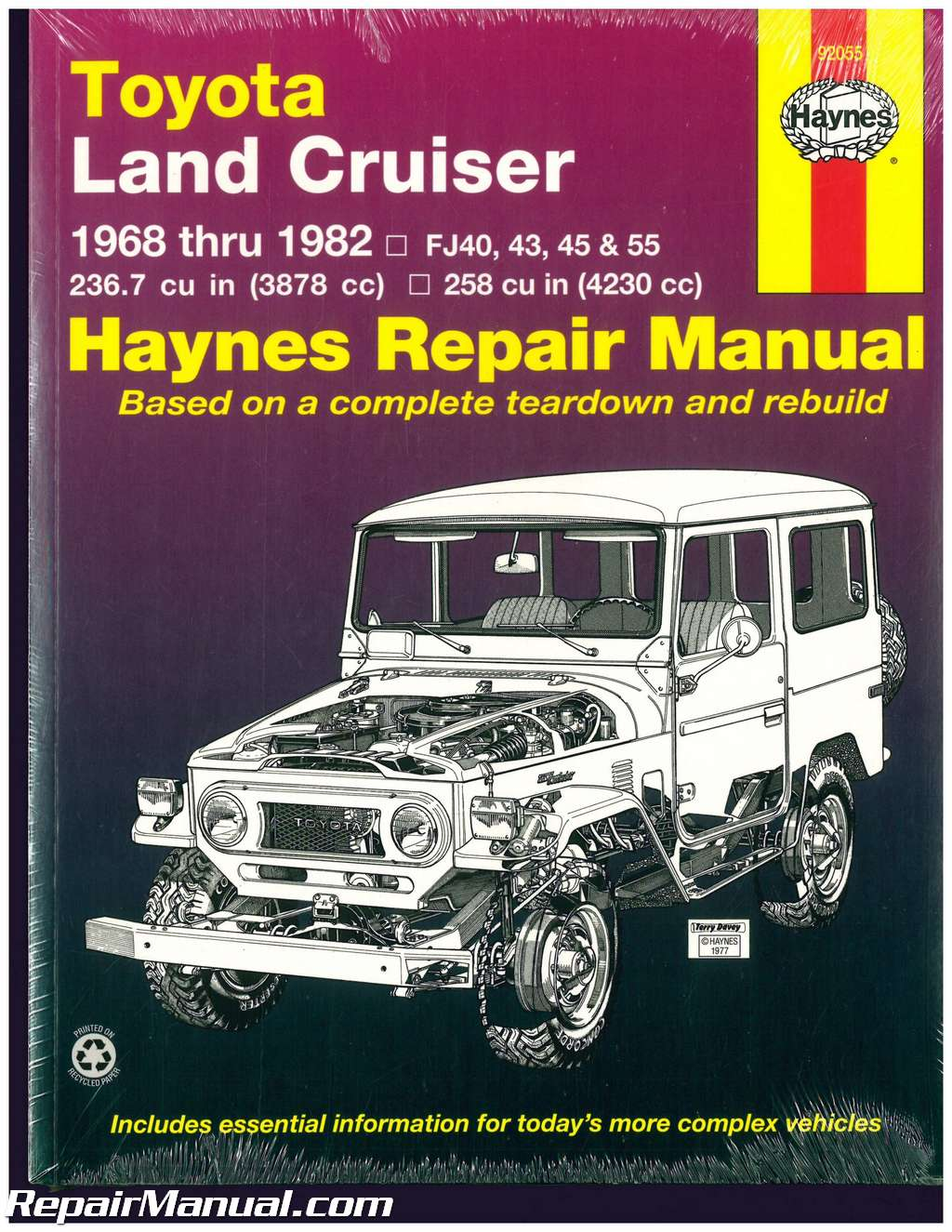 Haynes Toyota Land Cruiser 1968