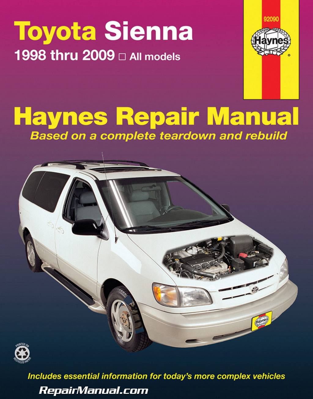 1998 Toyota Sienna - Owner s Manual (248 pages)