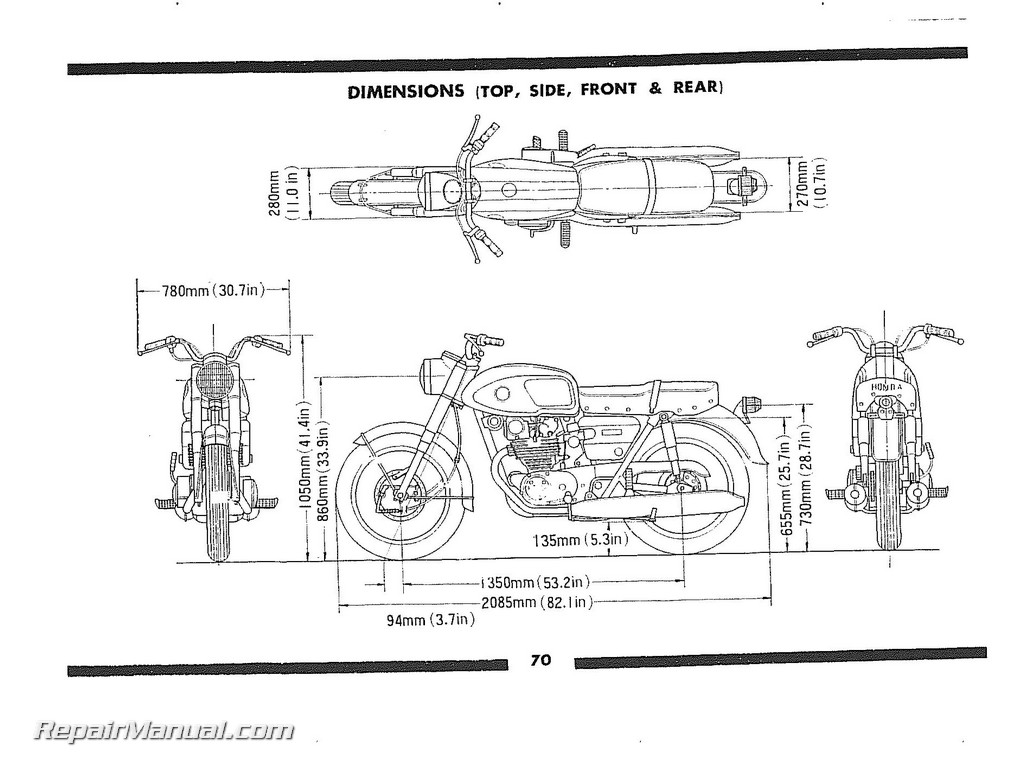 1965 honda ct90 wiring diagram