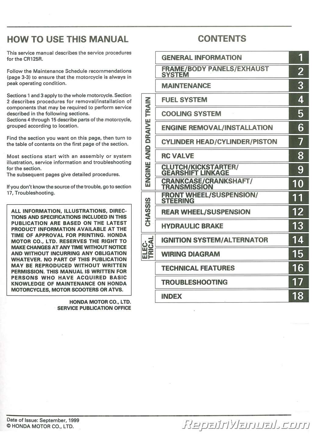 pdf array honda tl 2004 service manual youtube rh youtube Array - cr125r  manual rh parallel welten info