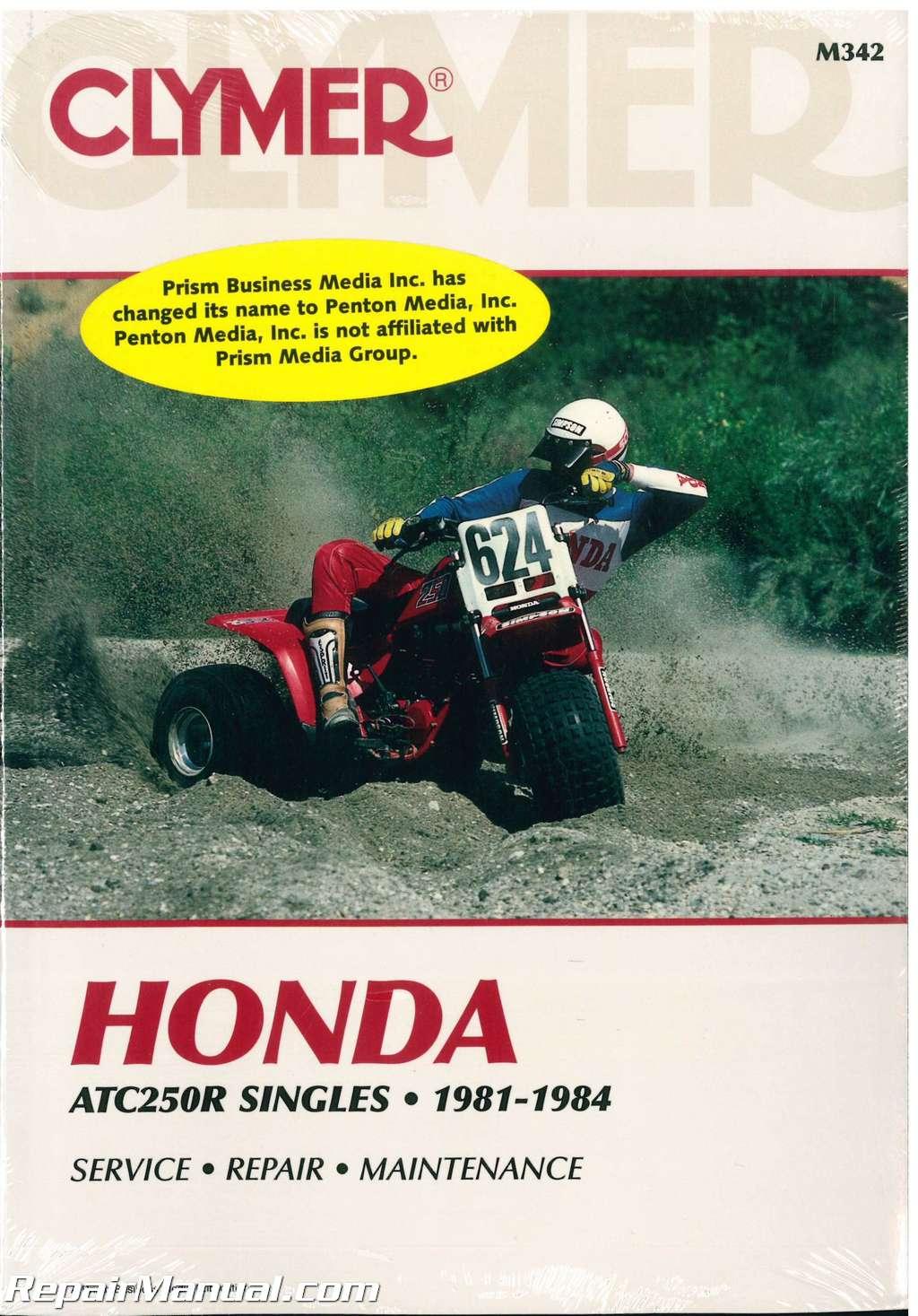honda atc 250r 1981 1982 1983 1984 clymer repair manual rh repairmanual com 200 Honda Three Wheeler 1984 Honda ATC