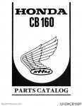 Honda CB160 Parts Manual_Page_1