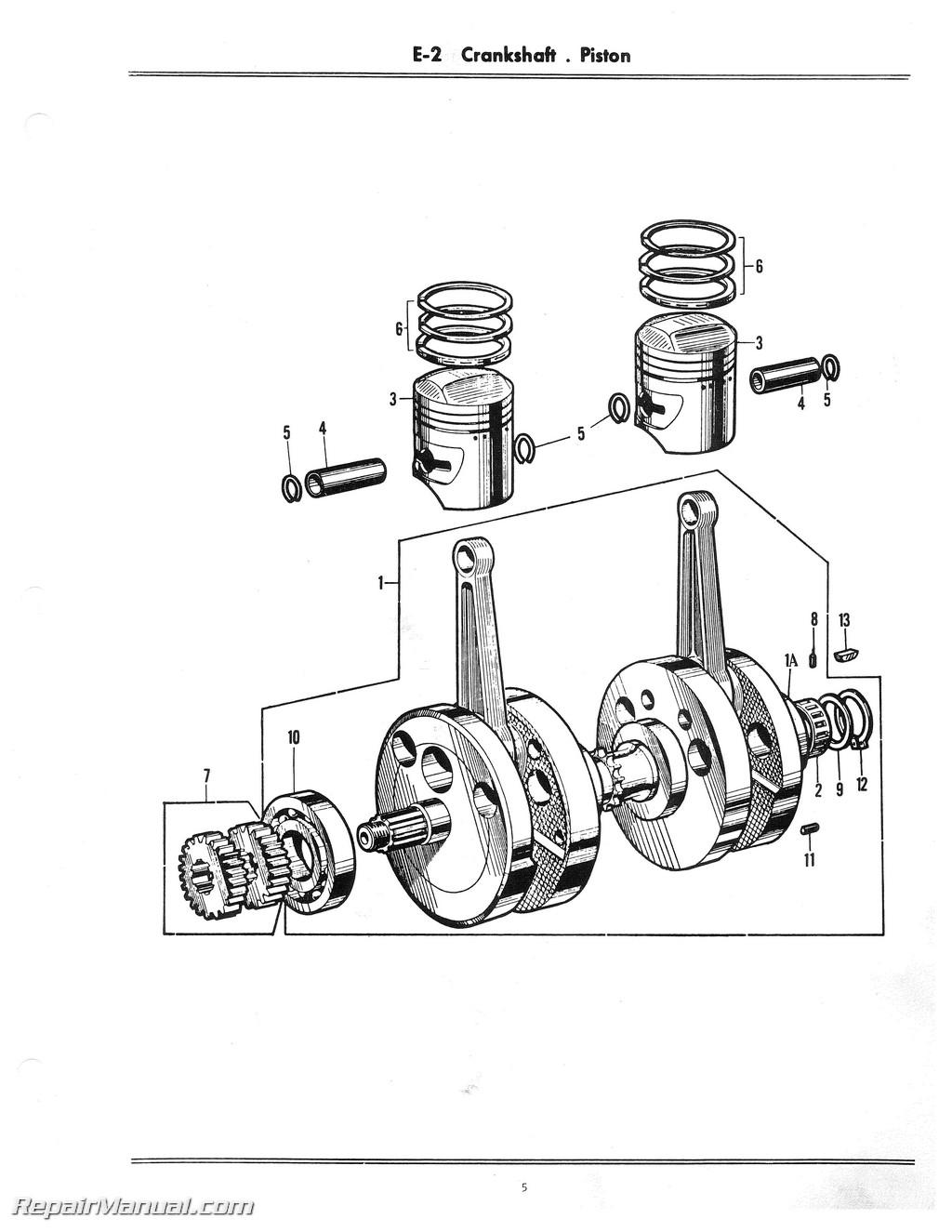 Honda CB160 Motorcycle Parts Manual