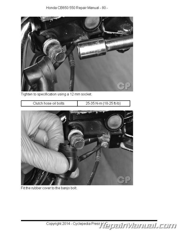 1983 nighthawk 650 ignition system wiring diagram honda cb550 cb650sc nighthawk cyclepedia printed service ... ford f 150 ignition system wiring diagram