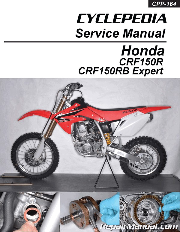 Honda Crf150r Crf150rb Expert Cyclepedia Printed Motorcycle Service Manual