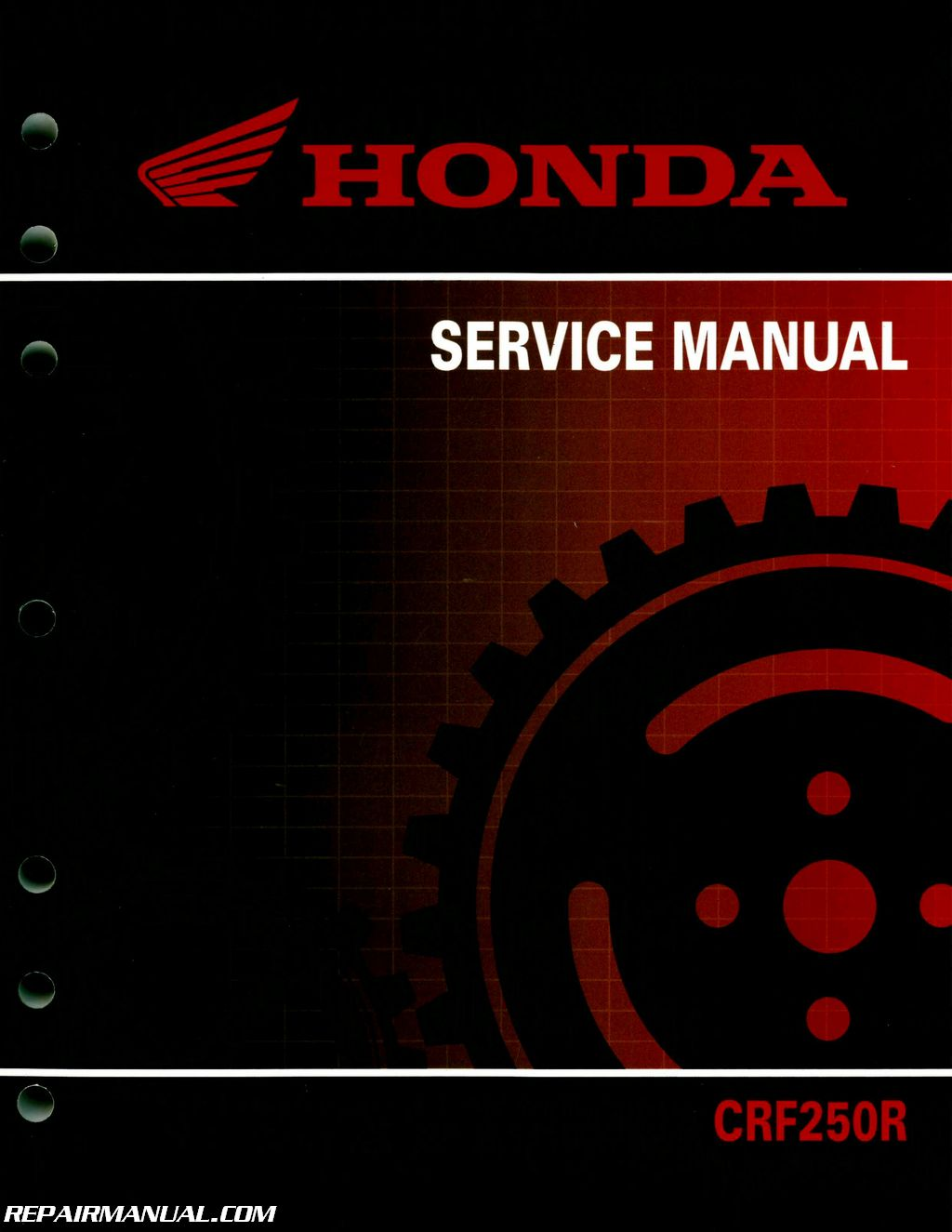 2010 2013 honda crf250r motorcycle service manual repair manuals honda crf250r service manual
