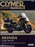 Honda GL1200 Gold Wing Motorcycle Repair Manual 1984-1987 Clymer_001