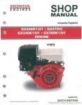 Honda GX240K1 GX270K0 GX340K1 GX390K1 Engine Shop Manual_001