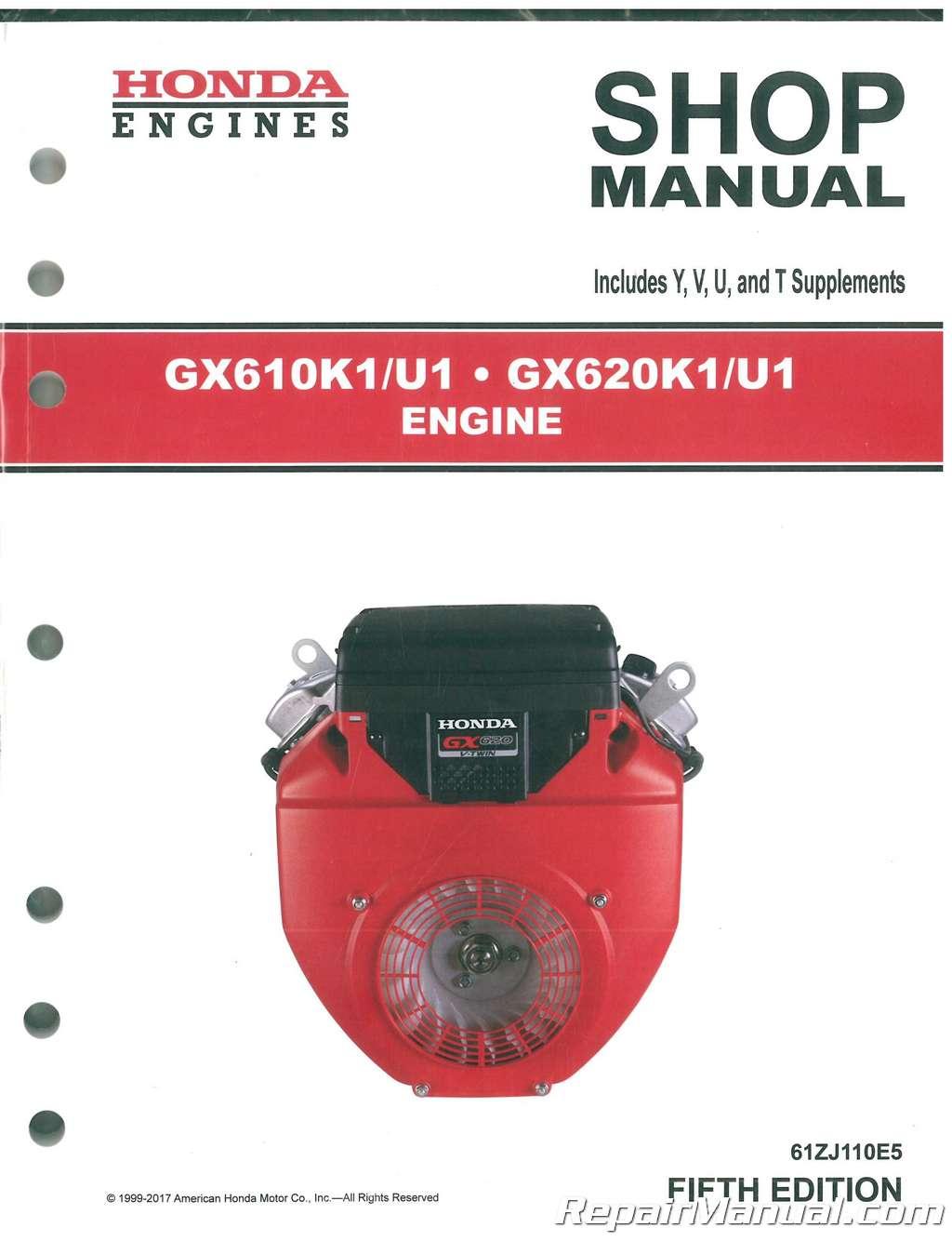 Revtech 110 Engine Rebuild manual