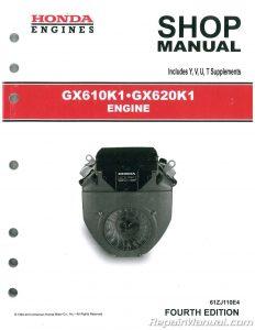 Honda GX610K1 GX620K1 Engine Shop Manual_001