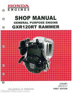 Honda GXR1200RT Rammer General Purpose Engine Shop Manual_001