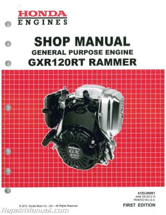 honda gx360 small engine shop manual rh repairmanual com