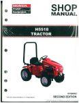 Honda H5518 Lawn Tractor Shop Manual_001