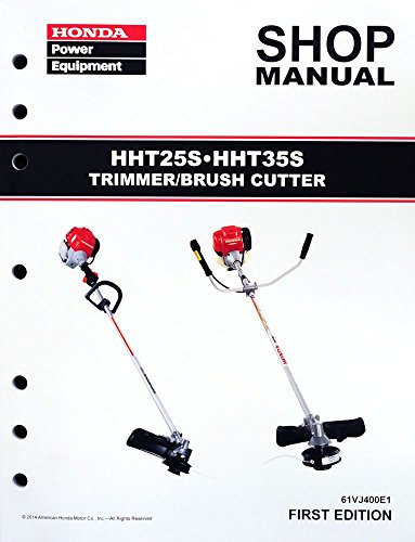 honda hht25s hht35s trimmer brush cutter shop manual rh repairmanual com Honda 4 Stroke Trimmers Parts Diagram
