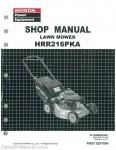Honda HRR216PKA K8 K9 Lawn Mower Shop Manual_001