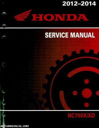 2012-2015 honda nc700x xd xa sa / nc750xa sa motorcycle service manual  - repair manuals online