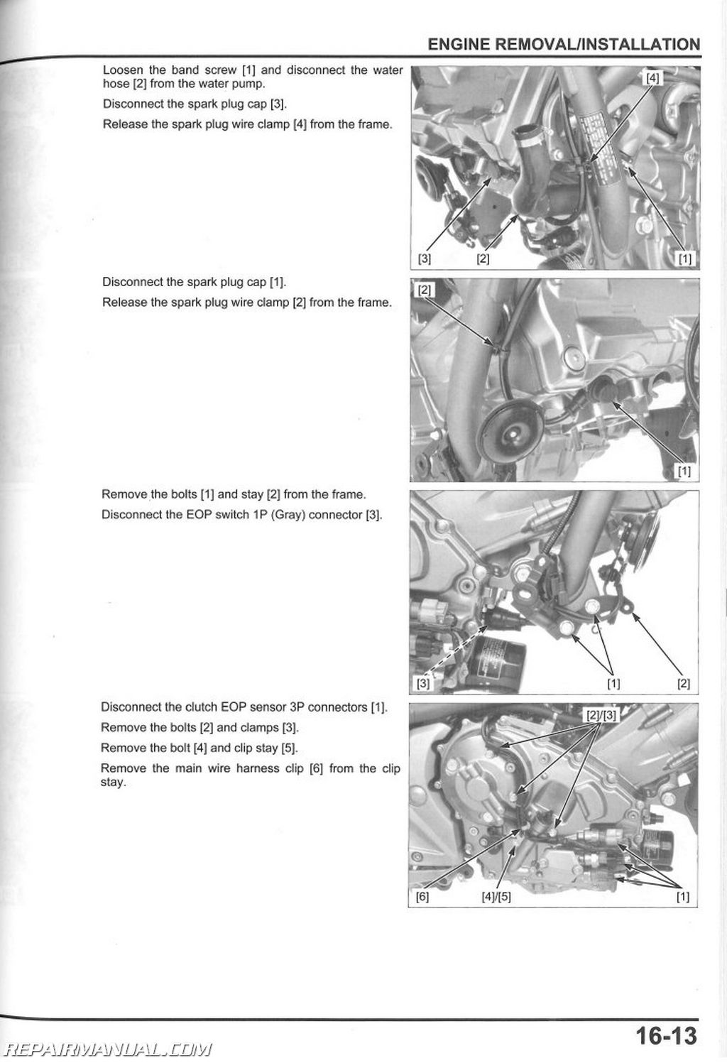 2012  nc750xa sa motorcycle service manual