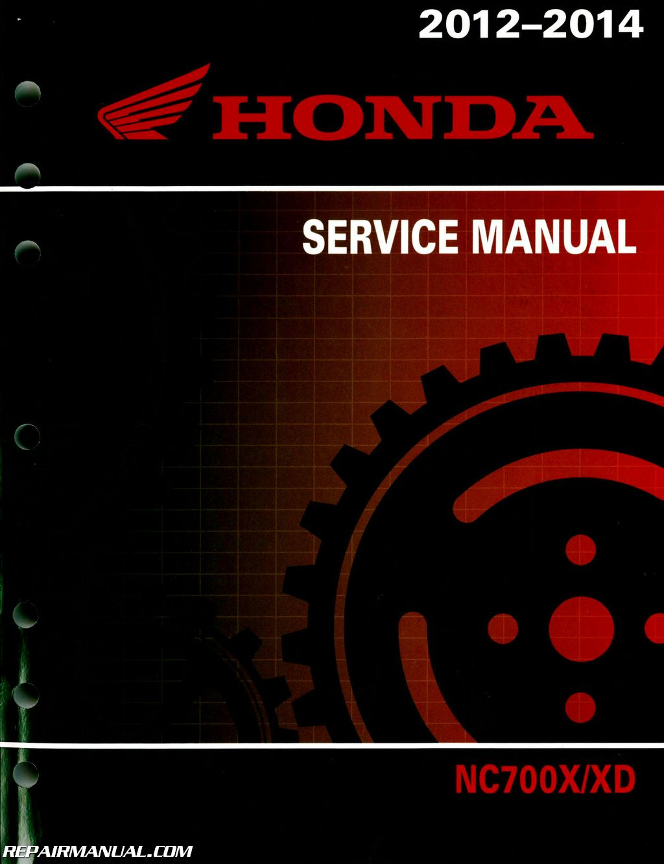 Honda 2020 NC750XD Service Manual