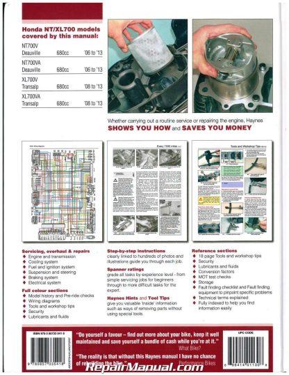 honda 2006 2013 nt700v deauville 2008 2013 xl700 transalp rh repairmanual com