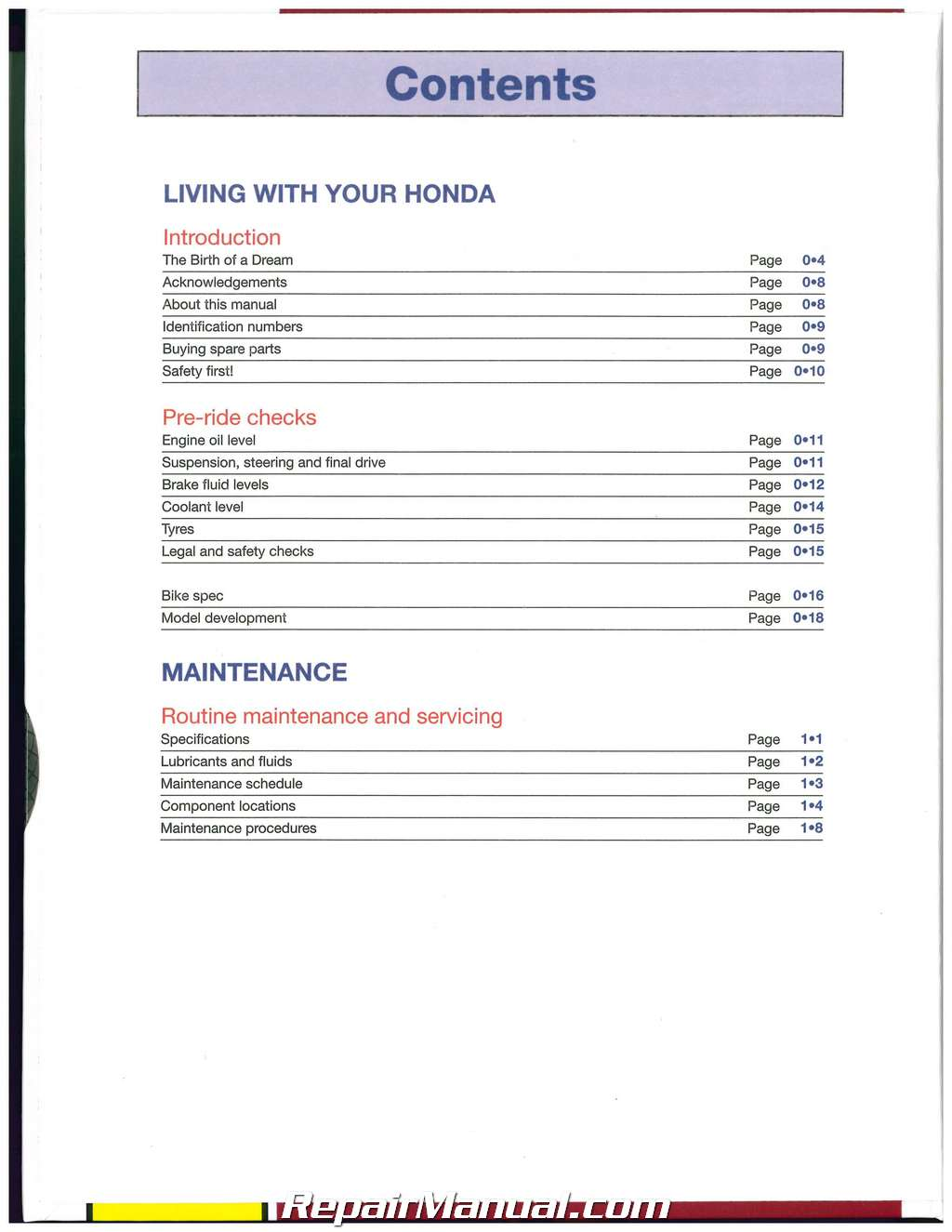 Honda 2006-2013 NT700V Deauville & 2008-2013 XL700 Transalp Motorcycle Repair  Manual