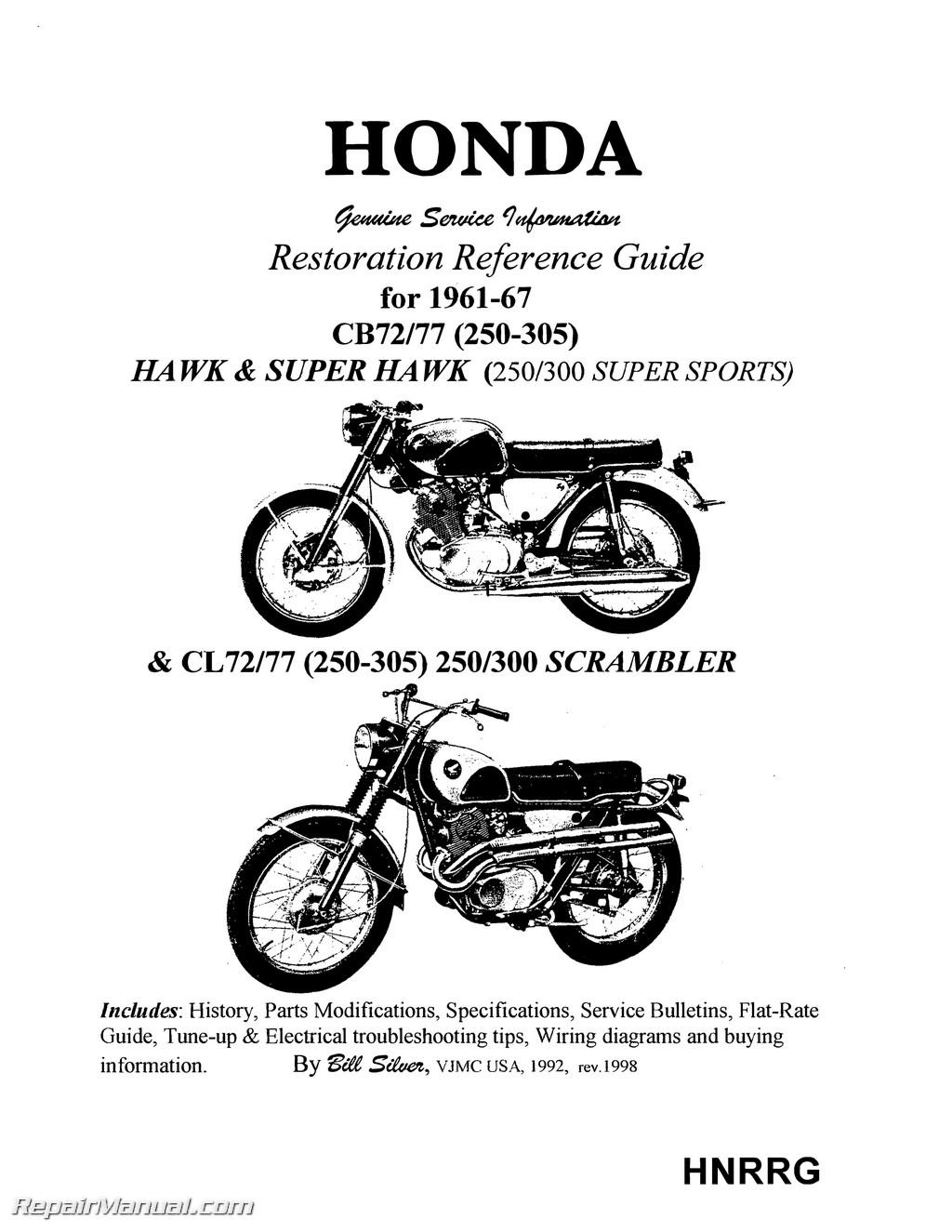 honda superhawk  u0026 scrambler motorcycle restoration
