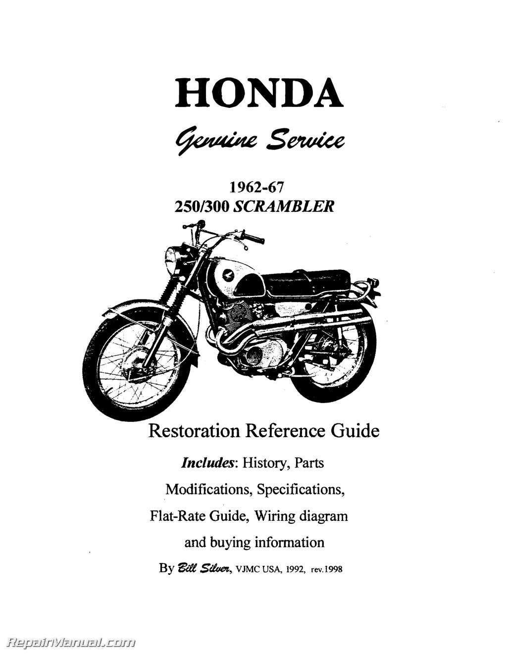 honda superhawk scrambler motorcycle restoration reference guide honda superhawk scrambler motorcycle restoration reference guide page 4