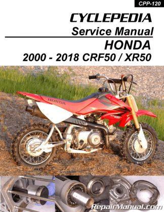 1995-2007 Honda CR80 CR85 Cyclepedia Motorcyle Printed