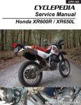 Honda XR600R XR650L Motorcycle Cyclepedia Printed Service Manual_Page_1