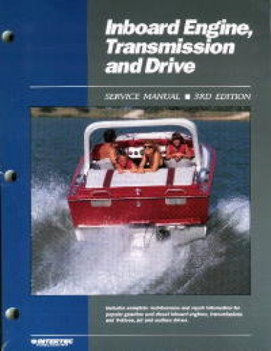 inboard engine transmission and drive boat service manual rh repairmanual com Oldsmobile 455 Engine 1983 YZ 490