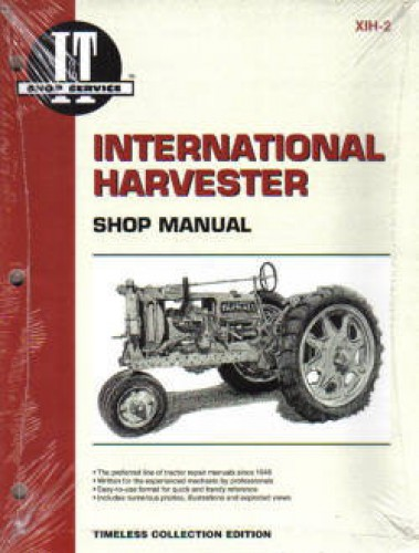 W30 Tractor Clutch : International harvester f w and
