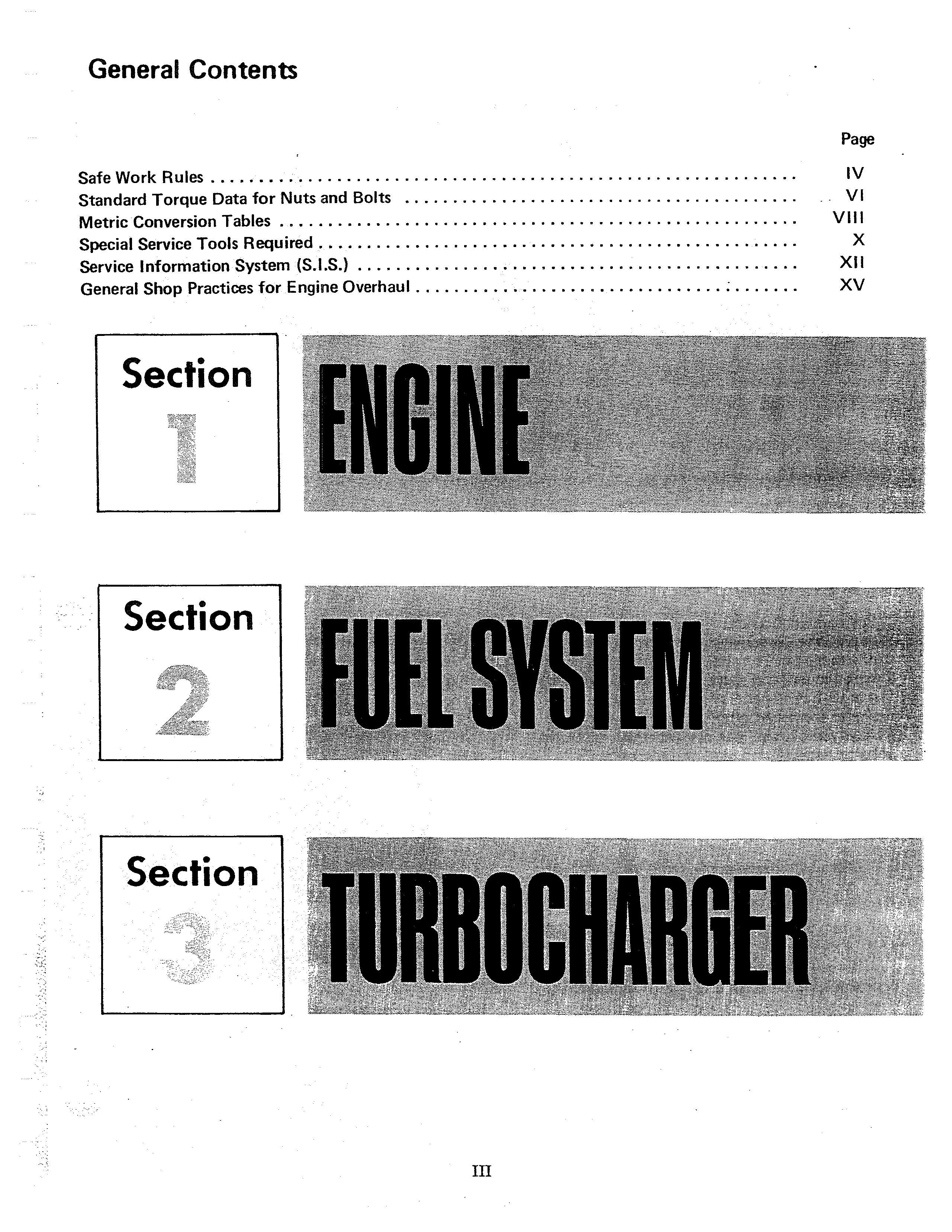IH Diesel Engine D155 D179 D206 D239 D268 D310 D358 Manual