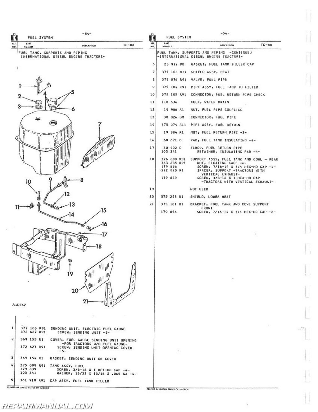 504 farmall hydraulic diagram 1946 farmall h hydraulic diagram international harvester 504 2504 gas lp and dsl parts manual